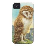 Vintage Barn Owl Blackberry Cases