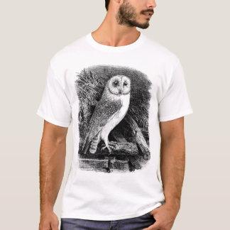 Vintage barn owl illustration T-Shirt