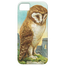Vintage Barn Owl iPhone SE/5/5s Case