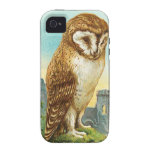 Vintage Barn Owl Vibe iPhone 4 Cover