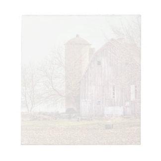 Vintage Barn & Silo Note Pad