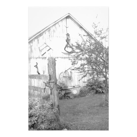 Vintage Barn Stationery