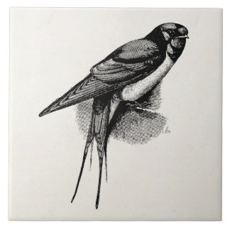 Barn Swallow Ceramic Tiles