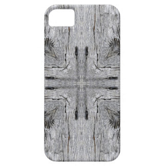 Vintage Barn Wood Kaleidoscope Pattern iPhone SE/5/5s Case