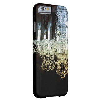 Vintage barn wood rustic chic chandelier barely there iPhone 6 case