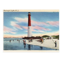 925 Sterling Silver Charm Bead Barnegat Lighthouse Old Barney Long Beach Island NJ Perfect Summer Vacation Travel Souvenir and Gift