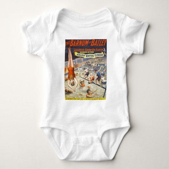 Vintage Barnum and Bailey Circus Baby Bodysuit
