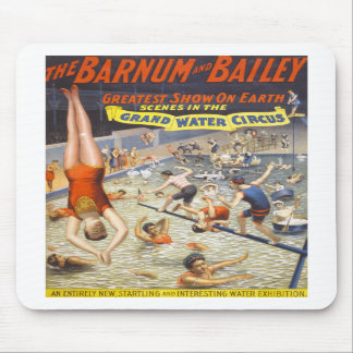 Vintage Barnum and Bailey Circus Mouse Pad