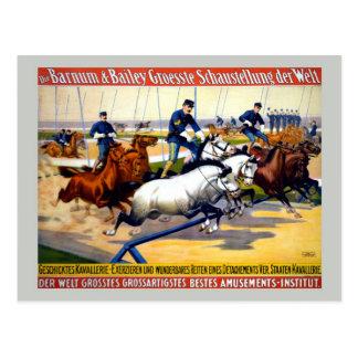 Vintage Barnum, el circo más grande del alemán de Postal