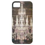 vintage barnwood purple chandelier paris fashion iPhone 5 cases
