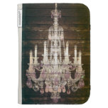 vintage barnwood purple chandelier paris fashion kindle covers