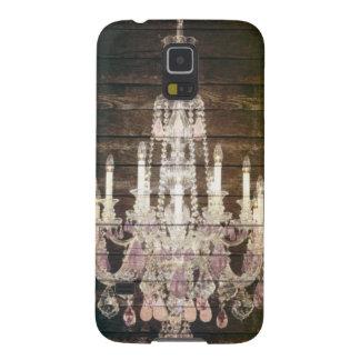 vintage barnwood purple chandelier paris fashion galaxy s5 case