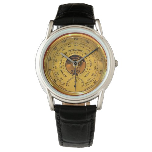 Vintage Barometer Watch