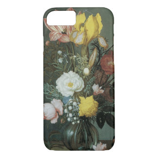 Vintage Baroque, Bouquet of Flowers in Glass Vase iPhone 8/7 Case