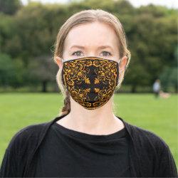 Vintage Baroque Face Mask