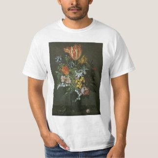 Vintage Baroque, Floral Still Life Flowers in Vase T-Shirt