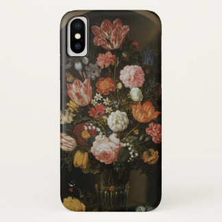 Vintage Baroque, Flower Piece by Bosschaert, Elder iPhone X Case