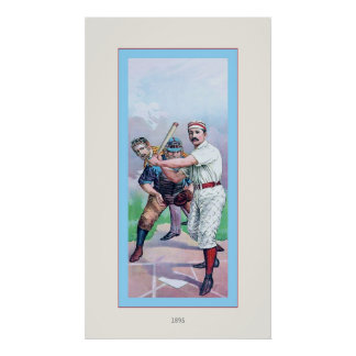 Vintage Baseball ~ 1885 Poster