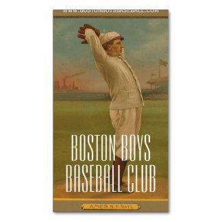 Vintage Baseball 1 Business Card Magnet