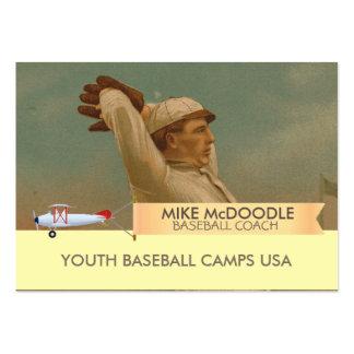 Vintage Baseball 1 Large Business Card