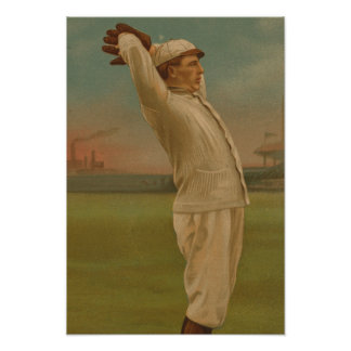 Vintage Baseball 1 Poster