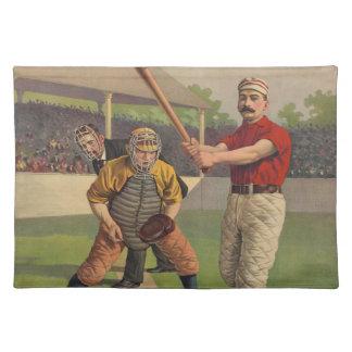 Vintage Baseball American MoJo Placemat