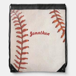 Vintage Baseball Backpack