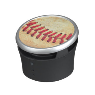 Vintage baseball ball bluetooth speaker
