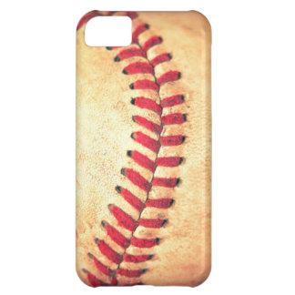 Vintage baseball ball iPhone 5C cases