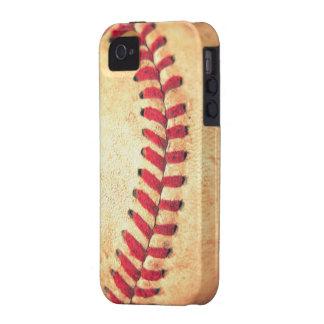 Vintage baseball ball vibe iPhone 4 case