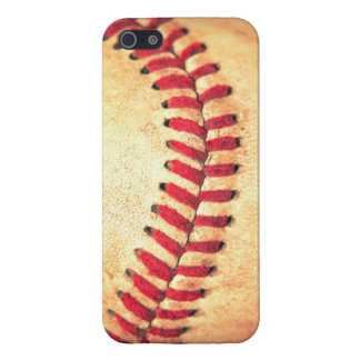Vintage baseball ball cover for iPhone SE/5/5s