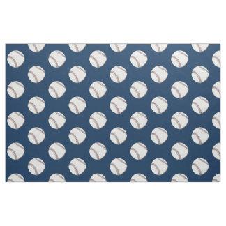 Vintage baseball ball fabric