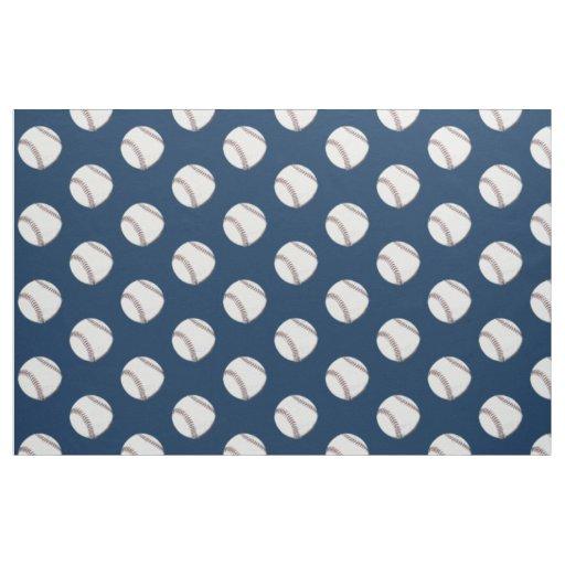 Vintage Baseball Ball Fabric Zazzle Com