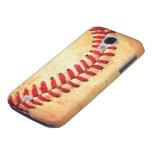 Vintage baseball ball galaxy s4 covers