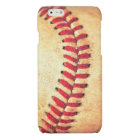 Vintage baseball ball glossy iPhone 6 case