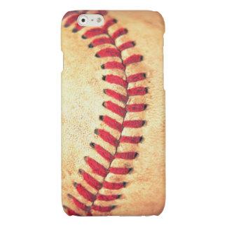 Vintage baseball ball glossy iPhone 6 case