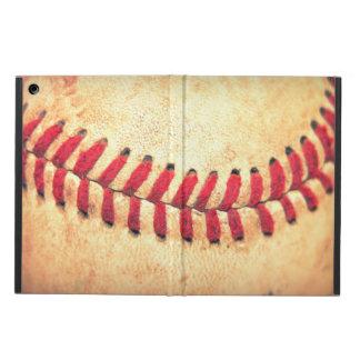 Vintage baseball ball iPad air covers