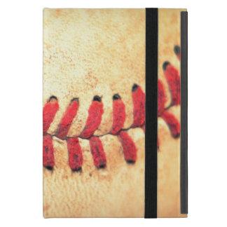Vintage baseball ball iPad mini covers