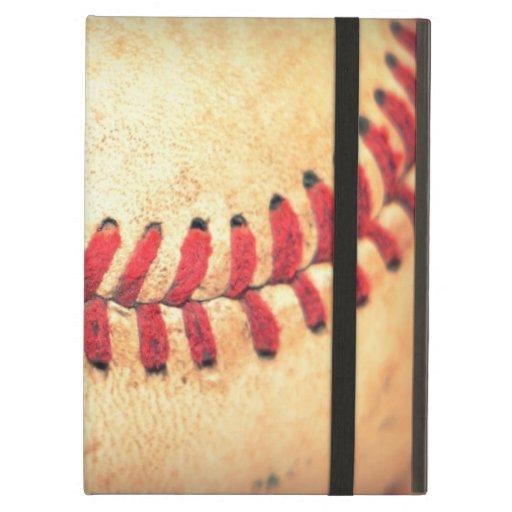 Vintage baseball ball iPad cover
