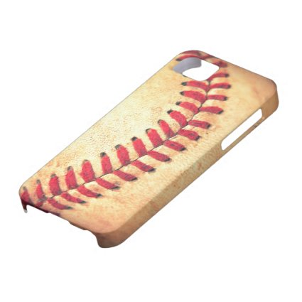 Vintage baseball ball iPhone 5 case