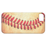 Vintage baseball ball iPhone 5 cases