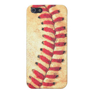 Vintage baseball ball iPhone SE/5/5s cover