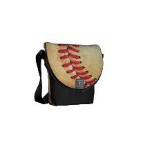 sports, baseball, funny, vintage, cool, messenger bag, retro, sport, old, shabby, rickshaw, original, rickshaw mini zero messenger bag, Rickshaw messenger bag with custom graphic design