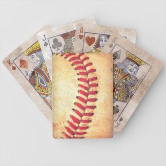 Vintage baseball ball card decks