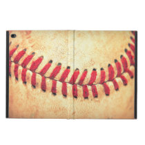 Vintage baseball ball powis iPad air 2 case