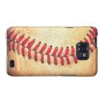Vintage baseball ball samsung galaxy s2 covers