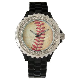 Vintage baseball ball wrist watch