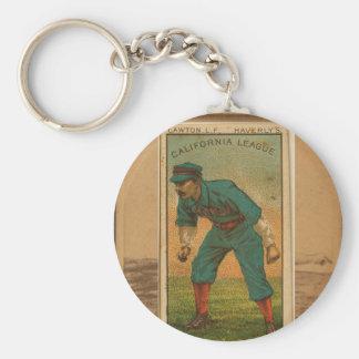 Vintage baseball card cira 1920s keychain