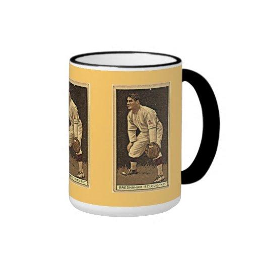 Vintage Baseball Card: Roger Bresnahan, Cardinals Mug