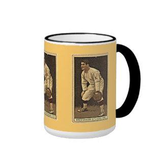 Vintage Baseball Card: Roger Bresnahan, Cardinals Ringer Mug